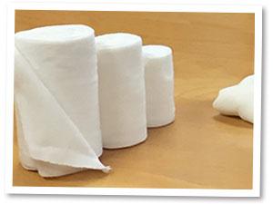 竹布 縫い目なしの筒状包帯