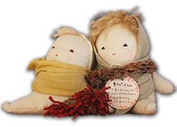 竹のお人形「たけのっこ」、「たけぼっこ」