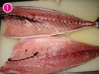 手作りしめ鯖 鯖をおろす