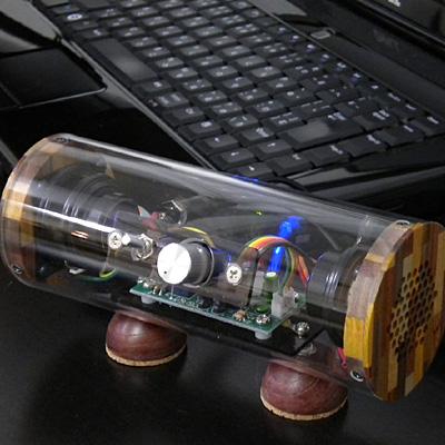 モバイル波動スピーカー SK0815 スケルトン