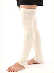 手足の冷えをポカポカ暖める竹布レッグウォーマー&アームウォーマー